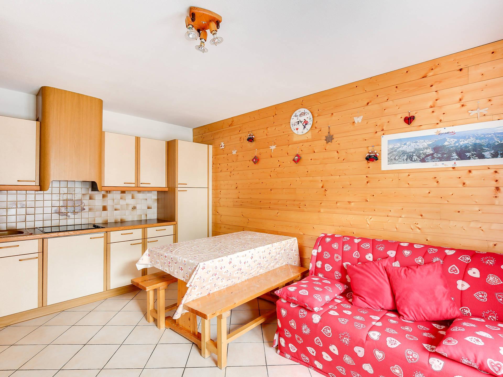 Appartement 2 pièces confortable pour 4...