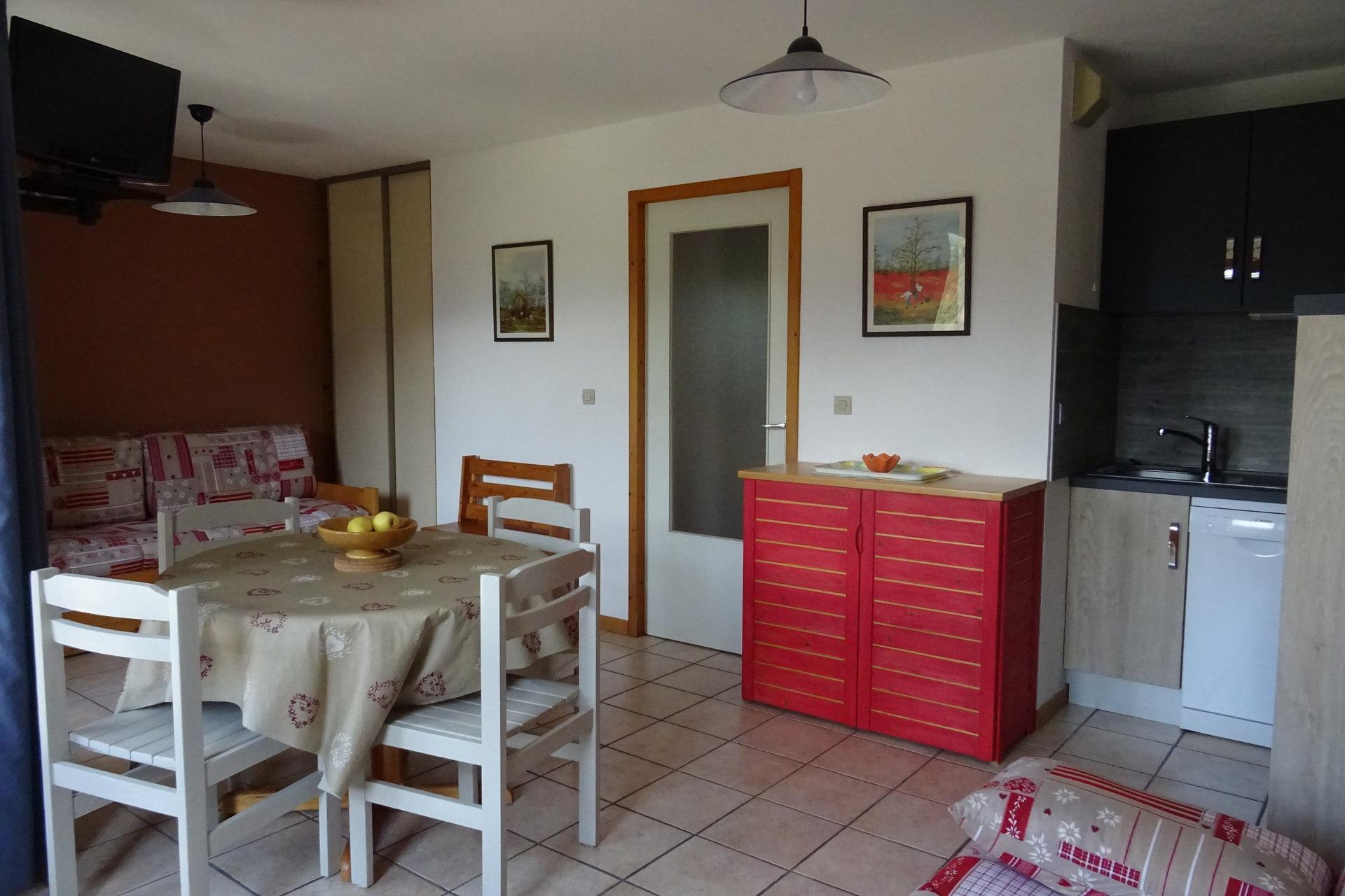 Appartement 2 pièces 5 personnes à Bourg Saint...