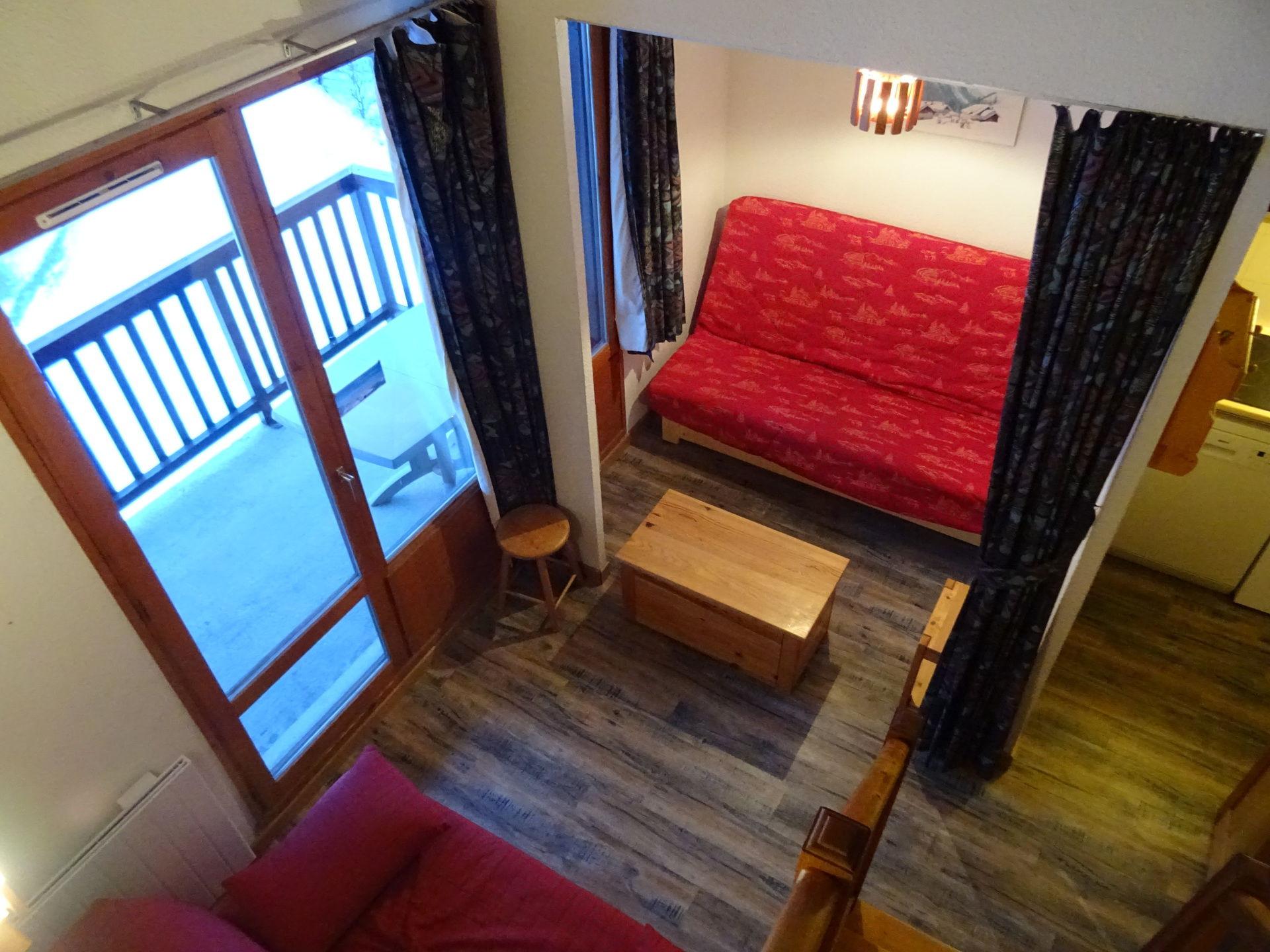 Appartement 2 pièces avec mezzanine 7 personnes...