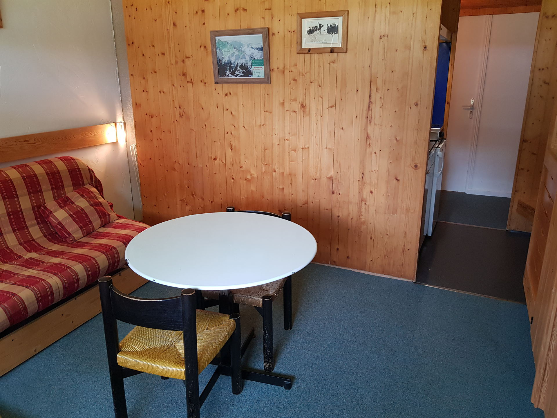 Studio for 2 persons in Arcs 1600 next to the...
