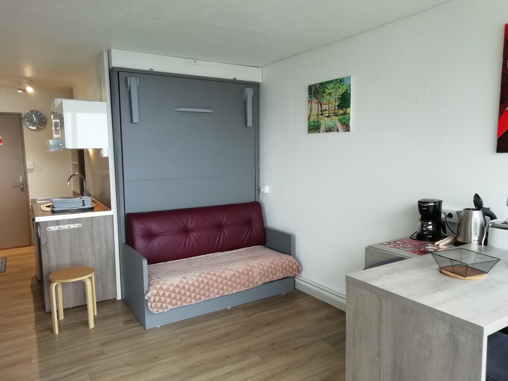 Studio for 2 persons in Arc 1600 close to shops...