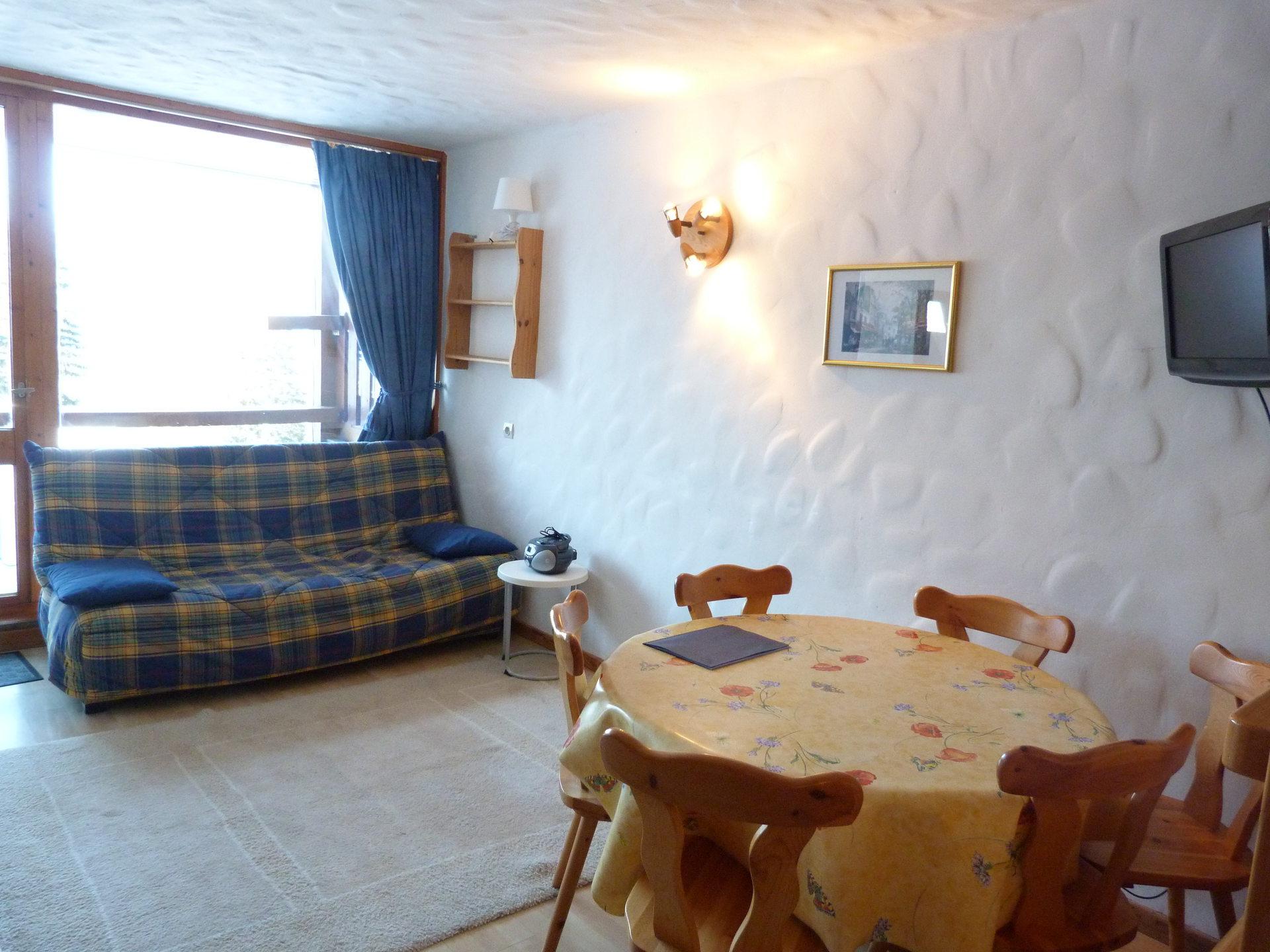 Appartement 2 pièces / 6 personnes à Arc 1800 en...