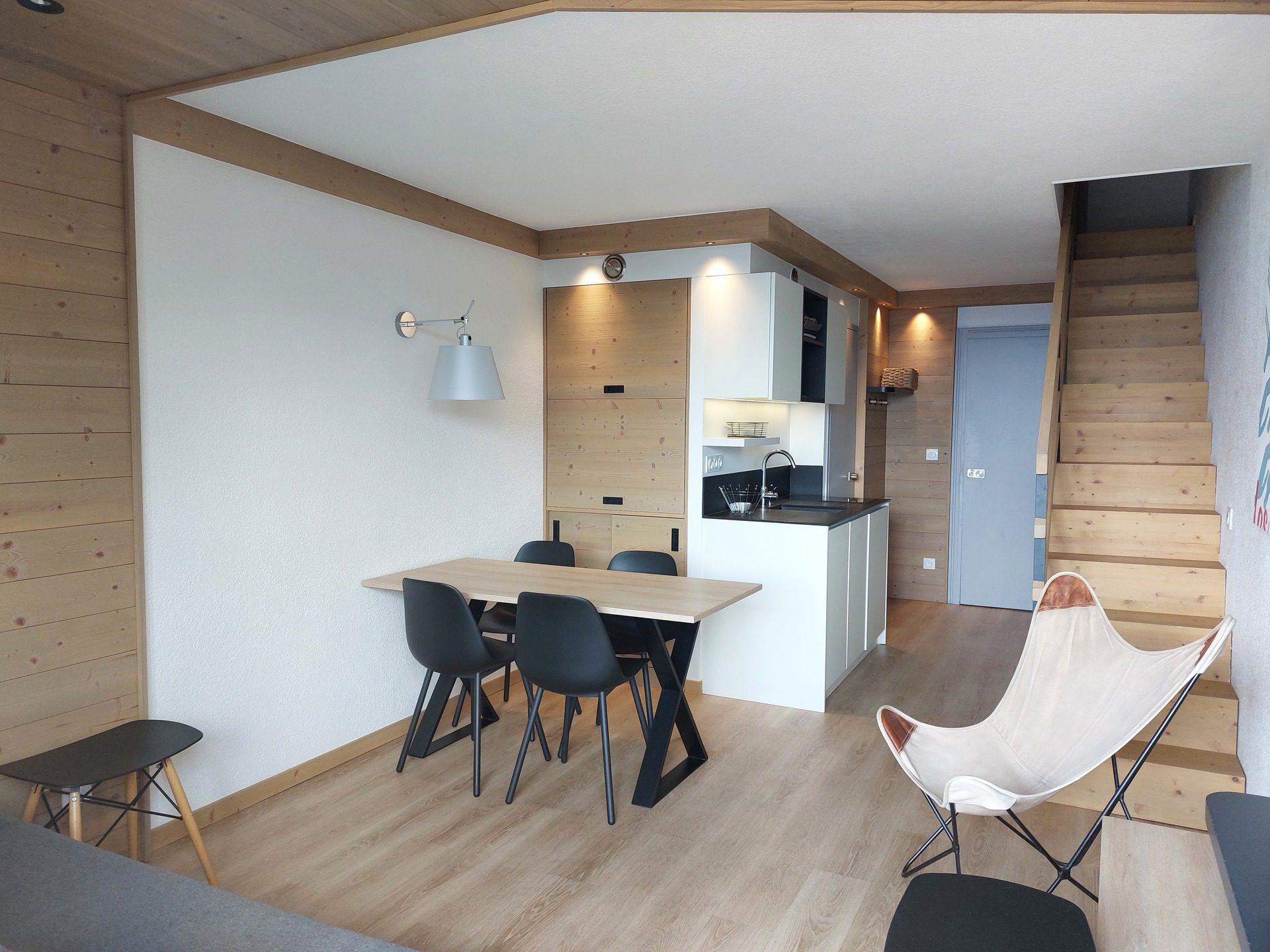 Appartement 3 pièces en duplex pour 8 personnes,...