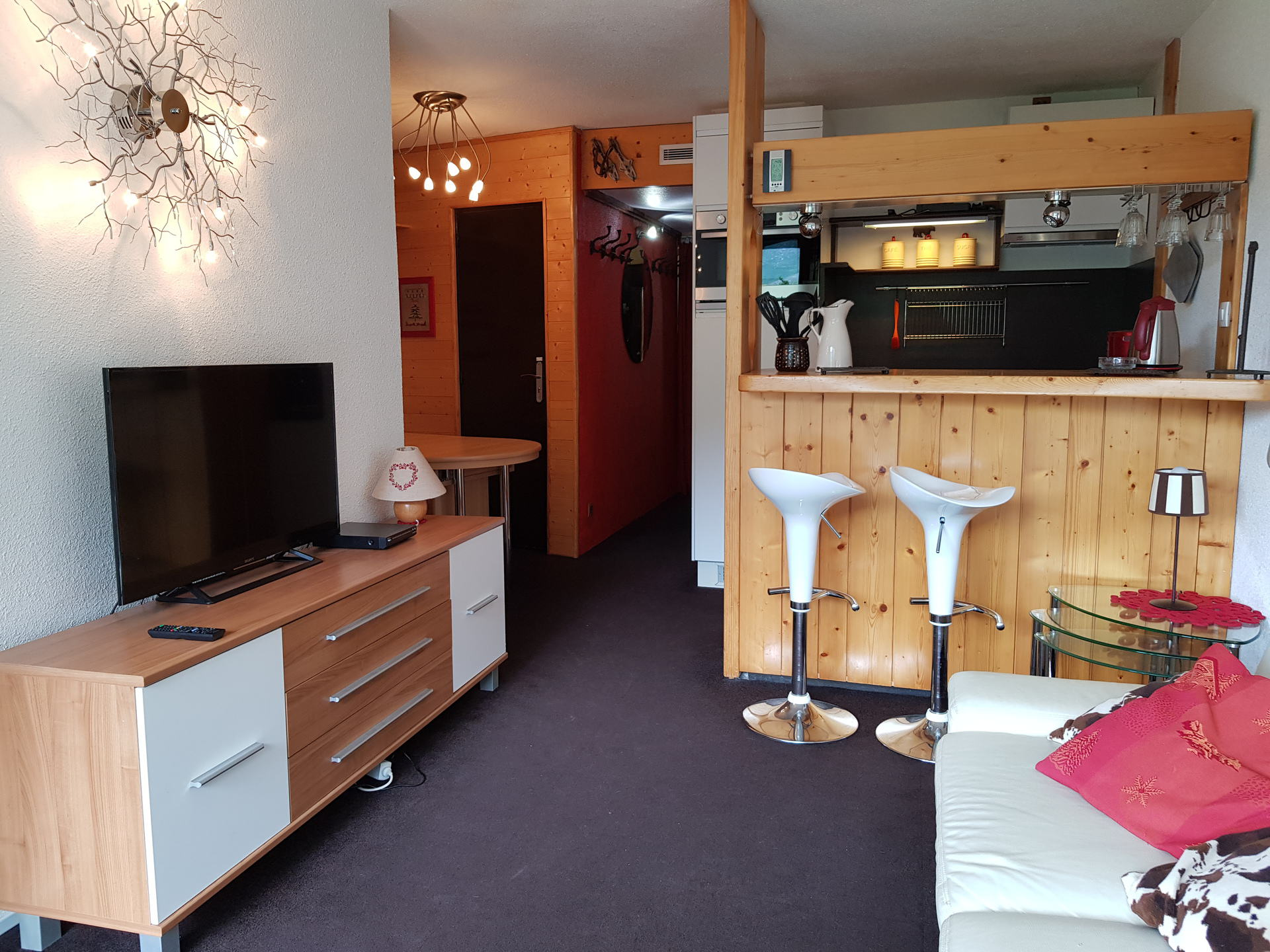 Bel appartement 2 pièces 6 personnes à Arc 2000...