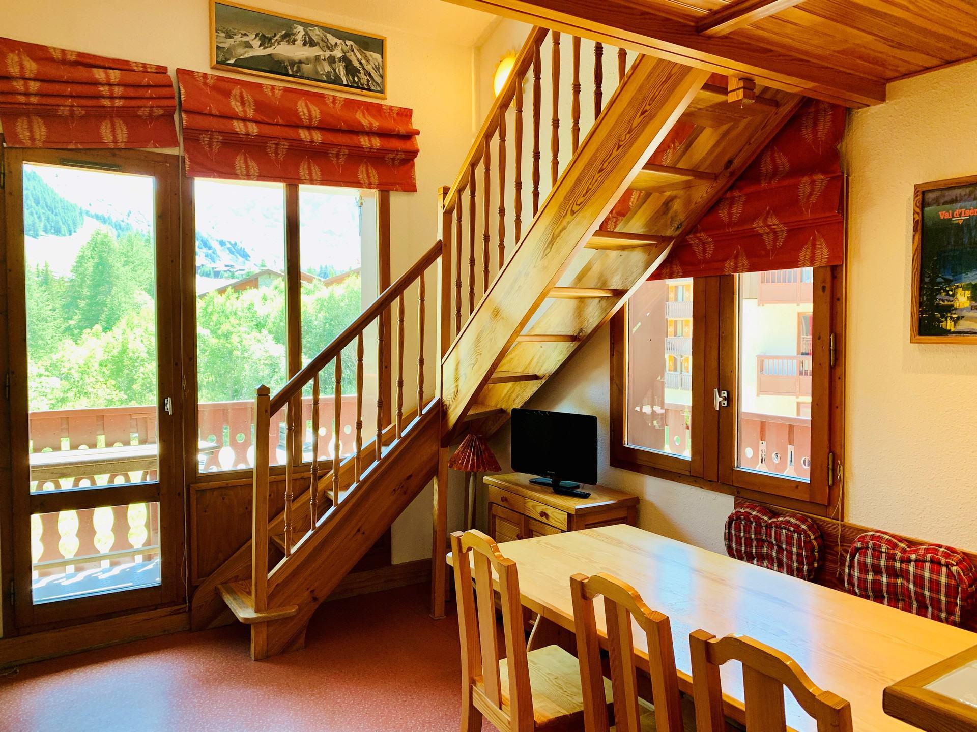 Charmant studio/mezzanine pour 4 personnes à Val...