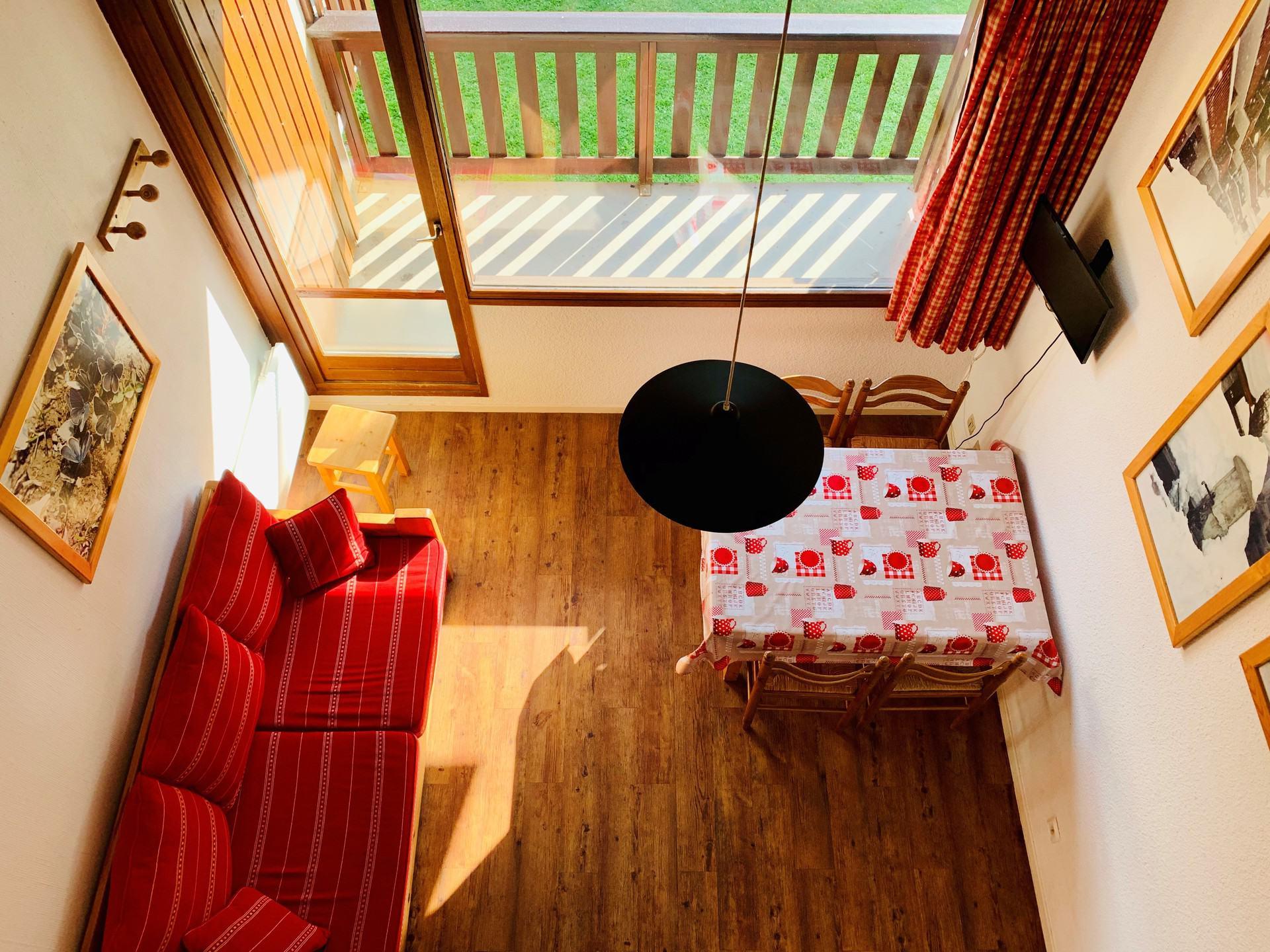 Studio cabine avec mezzanine pour 4 personnes à...