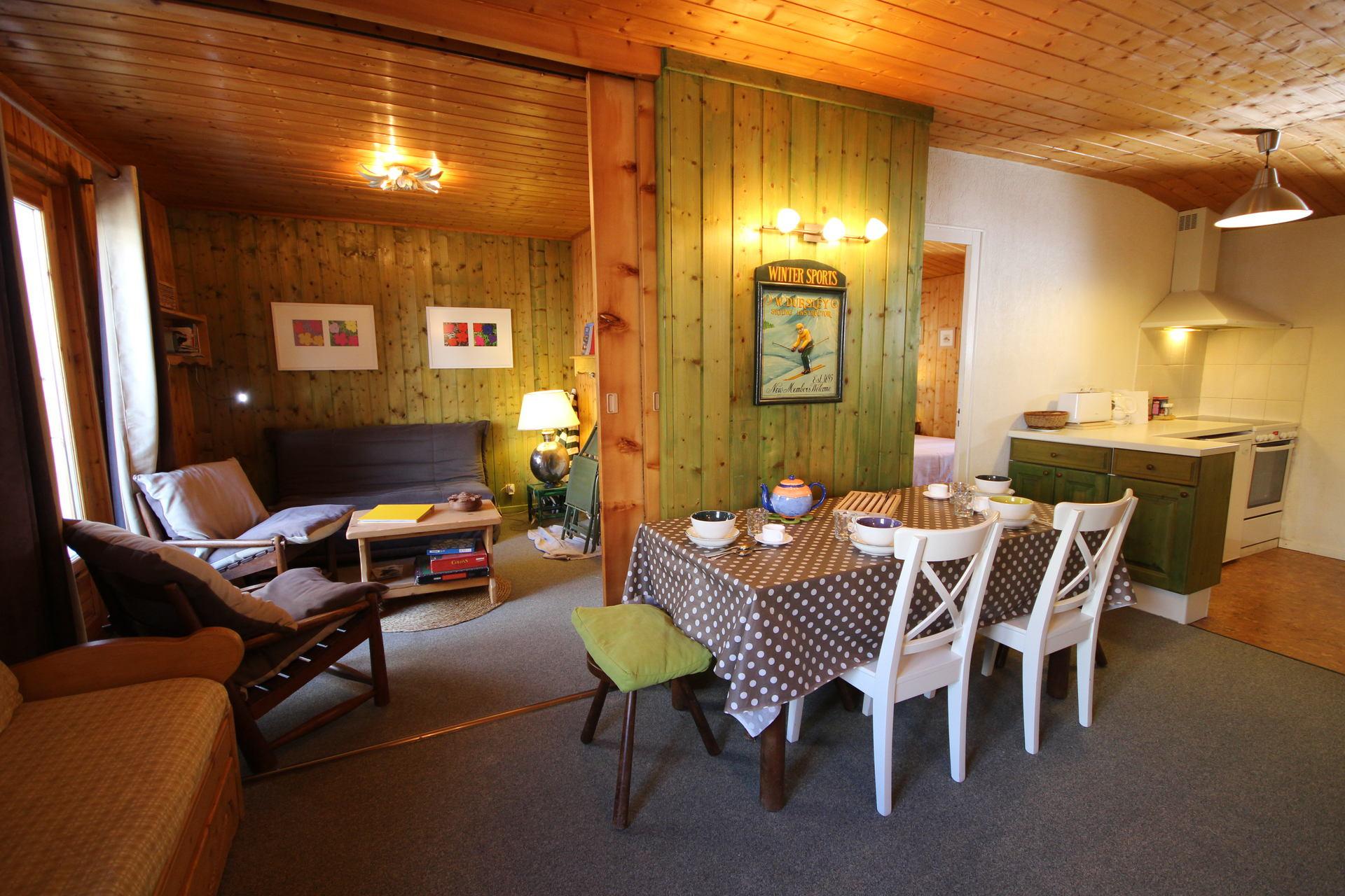 Appartement 3 pièces pour 6 personnes situé à...