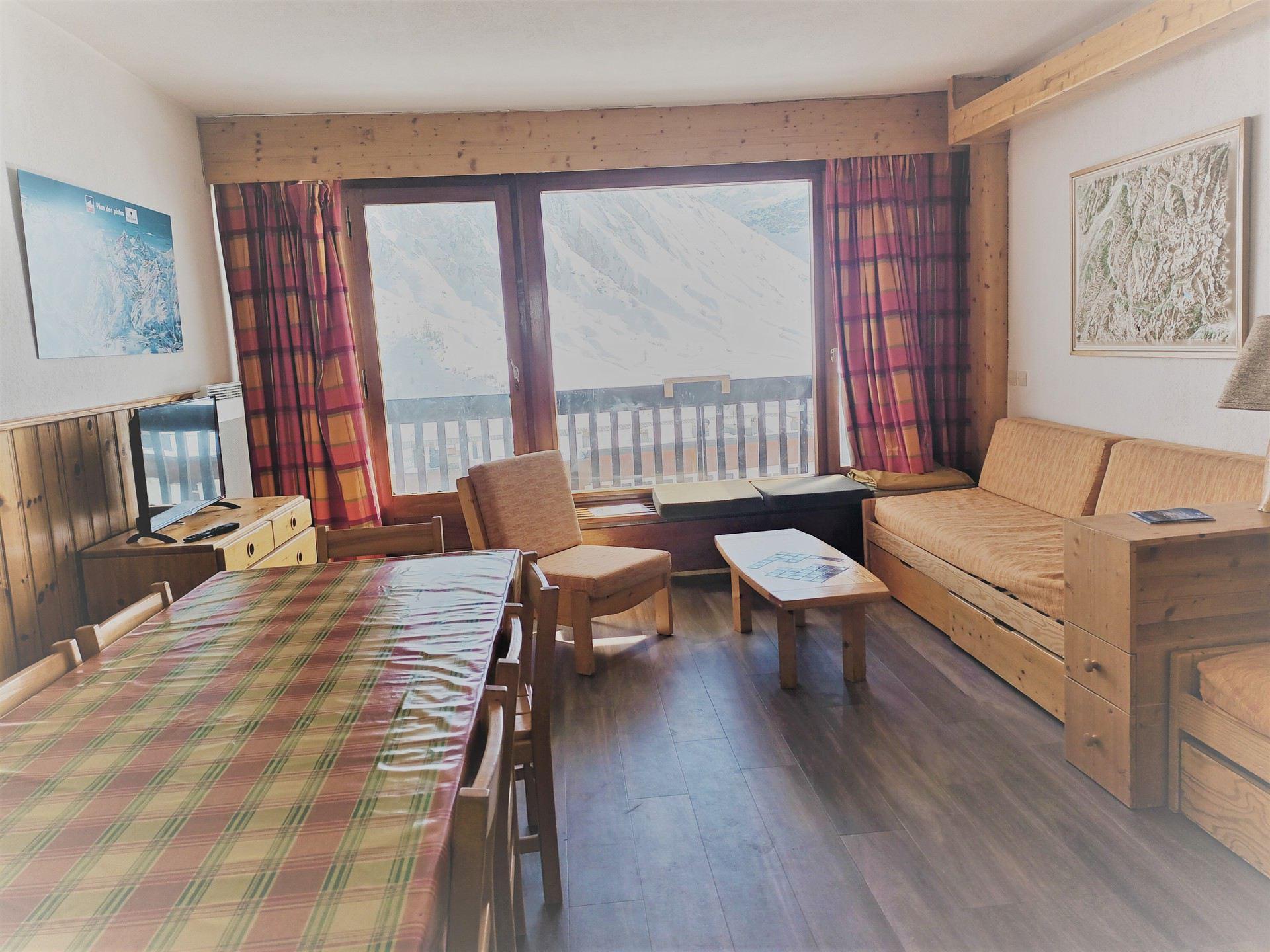 Appartement 3 pièces 8 personnes à Tignes ski...