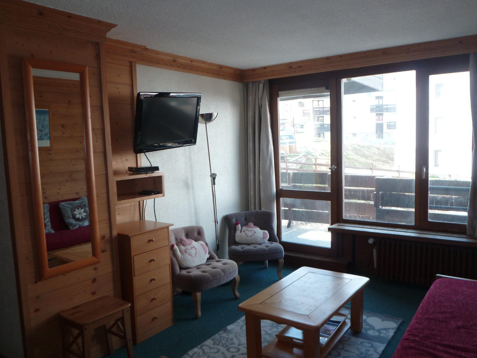Appartement de charme 6 personnes à Tignes...