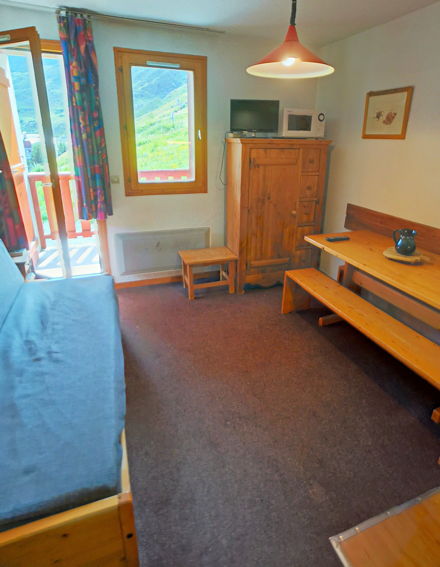 Studio for 4 persons in Tignes next to the...