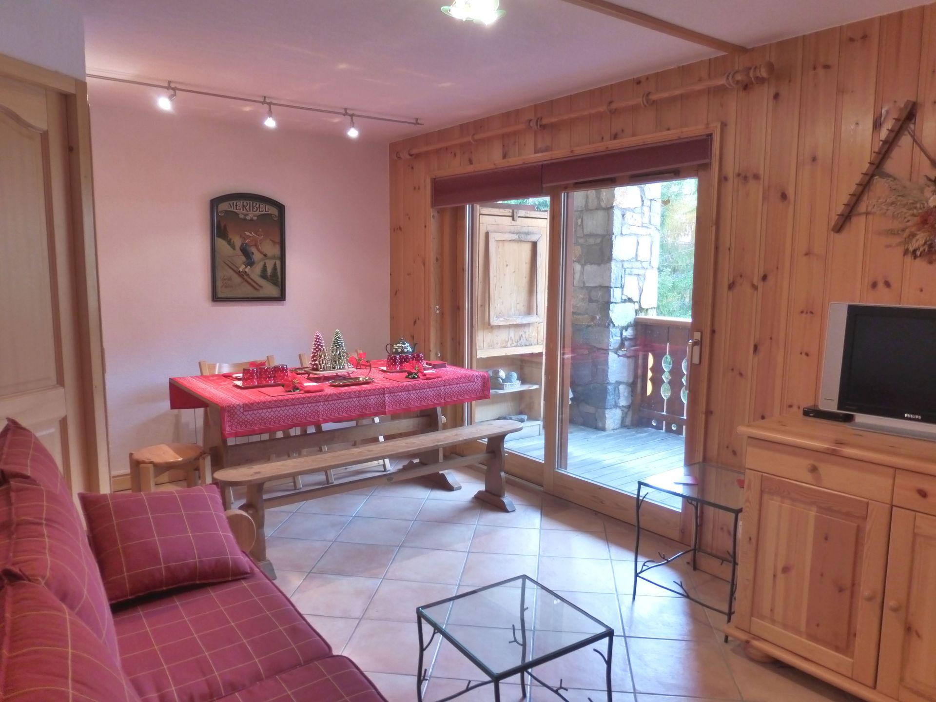 appartement 2 pièces cabine fonctionnel  pour 4...
