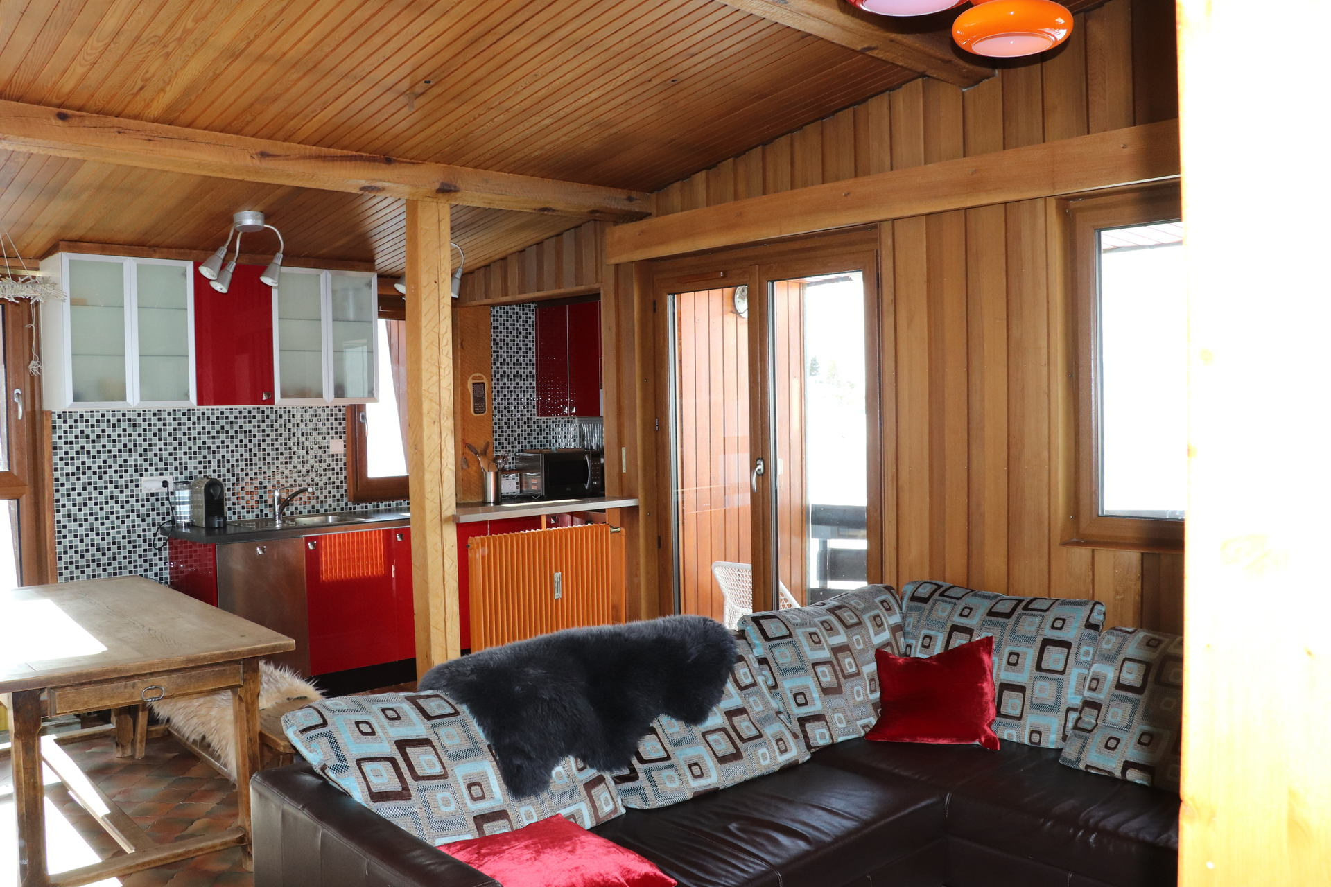 Spacieux 2 pièces cabine vue montagne accès wifi