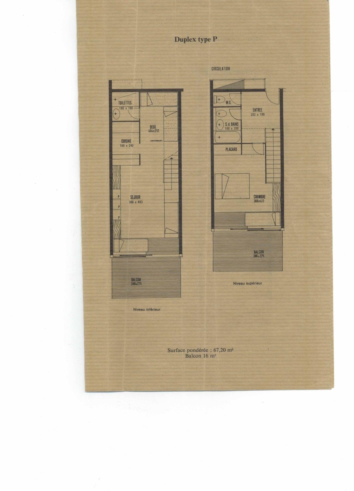 Appartements Versant Sud